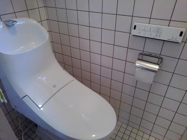 広島市東区馬木 トイレリフォーム 便器交換