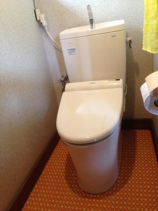 呉市吾妻 トイレ水漏れ修理