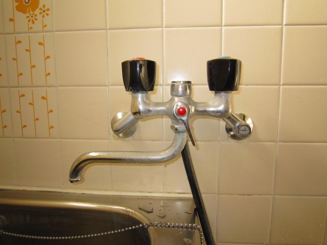 呉市広横路 浴室蛇口 水漏れ