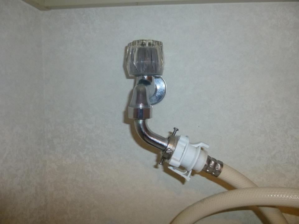 広島市西区井口台 洗濯蛇口 水漏れ修理