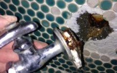 広島市安佐北区   水道管破損水漏れ修理