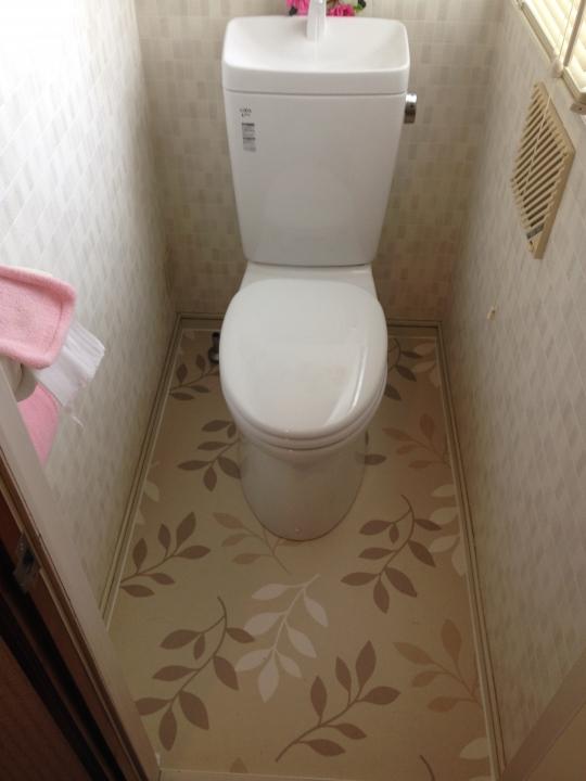 広島市佐伯区彩ヶ丘 トイレ水漏れ リフォーム