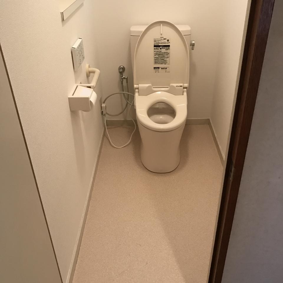 西区楠木町 トイレ交換