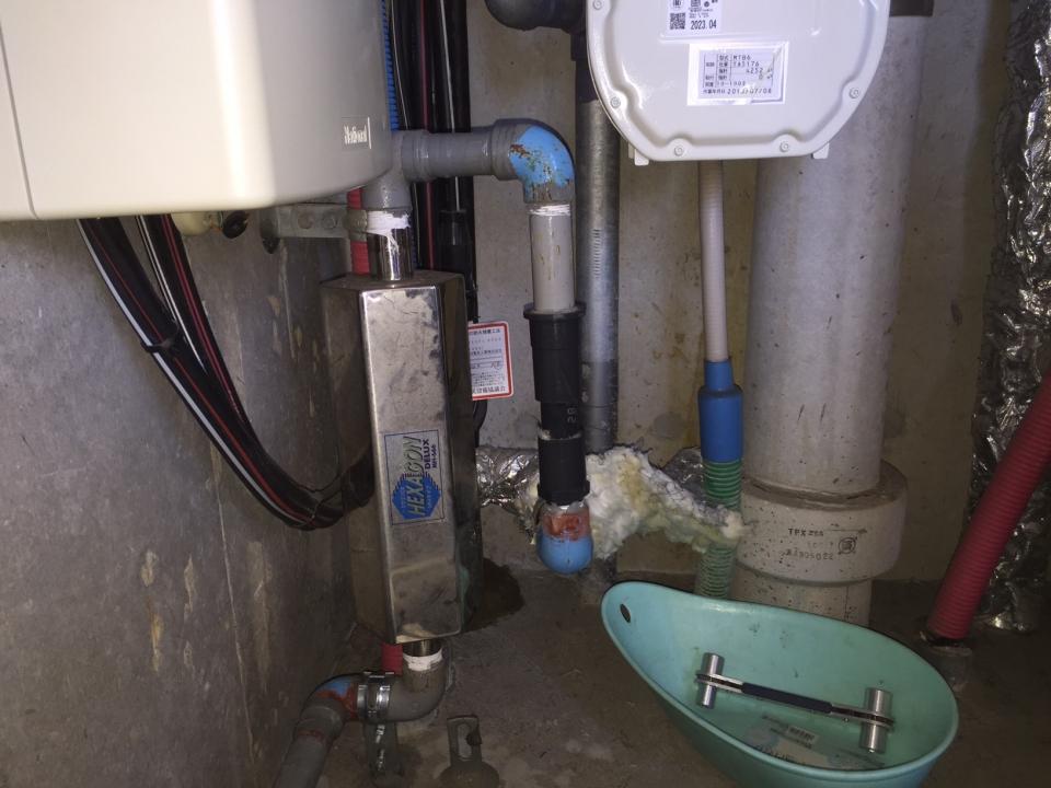広島市西区天満町 マンション 浄水器取り外し