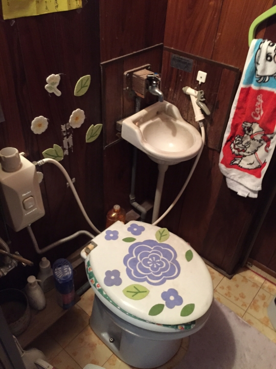 広島市安佐北区狩留家 トイレリフォーム 水洗化 簡易水洗 水洗トイレ