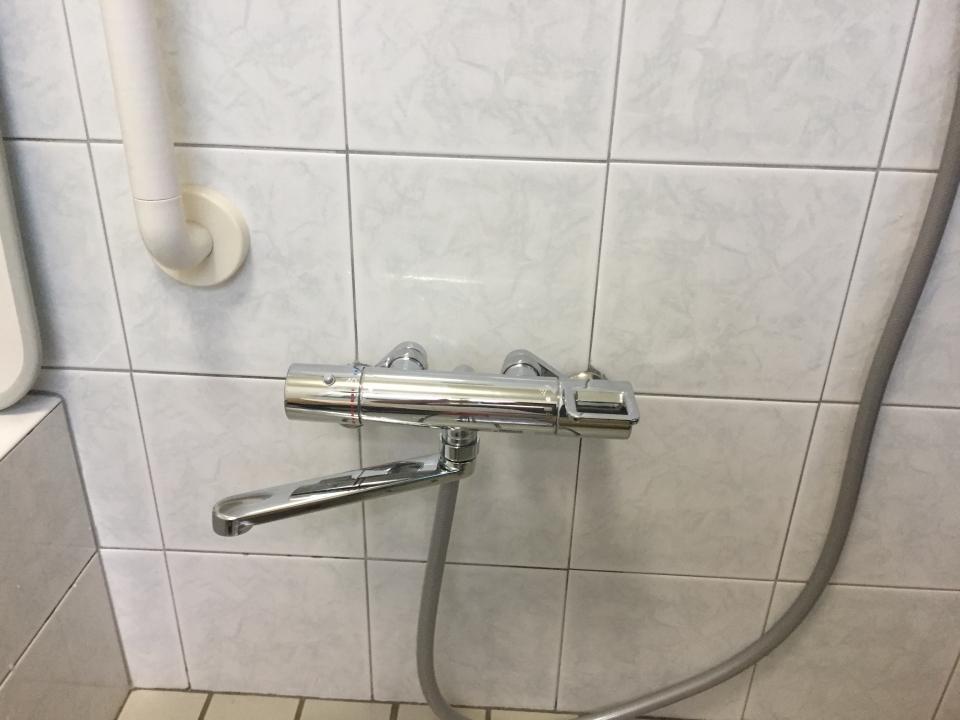 広島市安佐南区長束 浴室蛇口水漏れ修理 サーモスタッド 蛇口交換