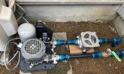 大竹市 | 井戸ポンプ砂こし器取り付け
