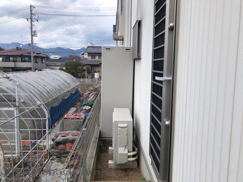 佐伯区石内南 エコキュート 水まわり工事 ネクストプラン 広島西店