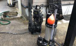 呉市 | 汚水汲み上げ用水中ポンプ交換