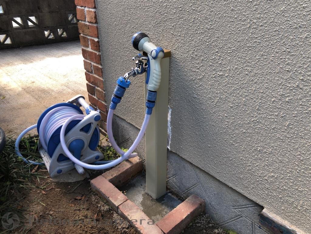 佐伯区藤垂園 水栓柱交換工事 水漏れ修理