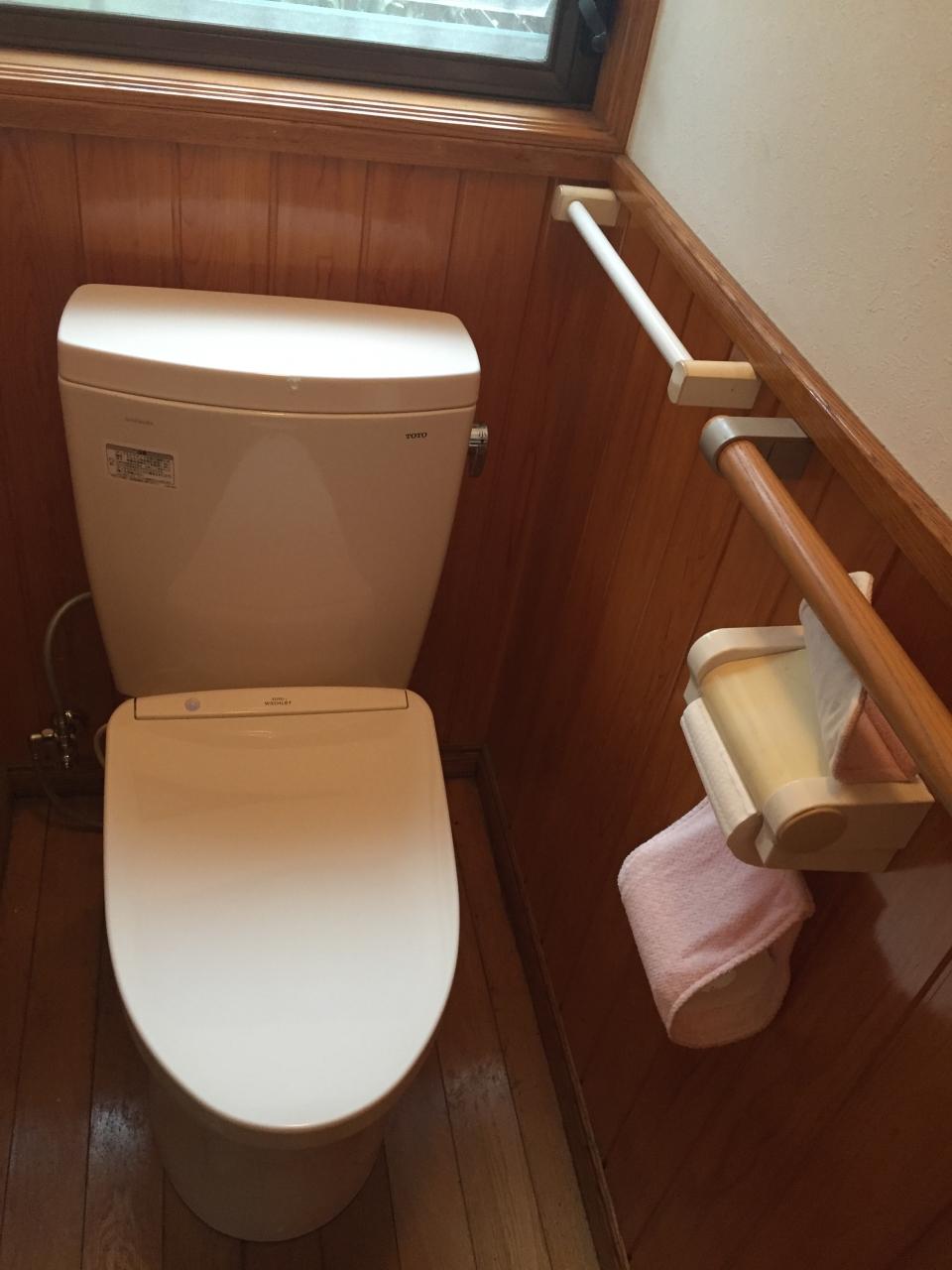 呉市阿賀中央 トイレ便器交換 リフォーム工事