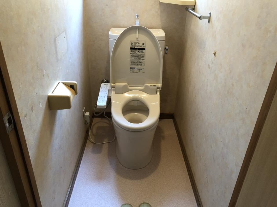 呉市広駅前 ウォシュレット交換 トイレ修理