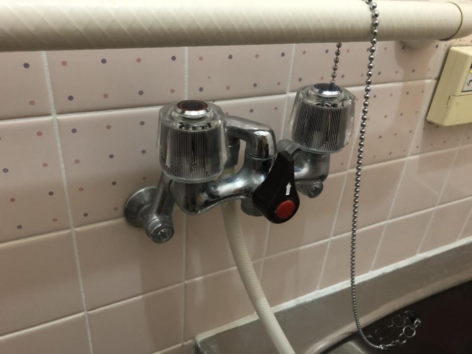 佐伯区杉並台 浴室シャワー蛇口交換 蛇口水漏れ修理