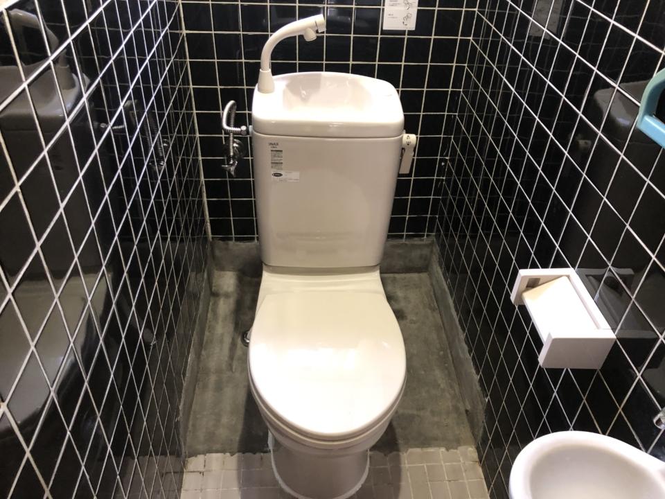 呉市音戸町 汲み取り和式トイレ トイレリフォーム 簡易水洗洋式トイレ