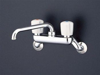 ツーバルブ混合水栓 キッチン用蛇口