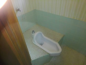 和式トイレ 便器撤去前