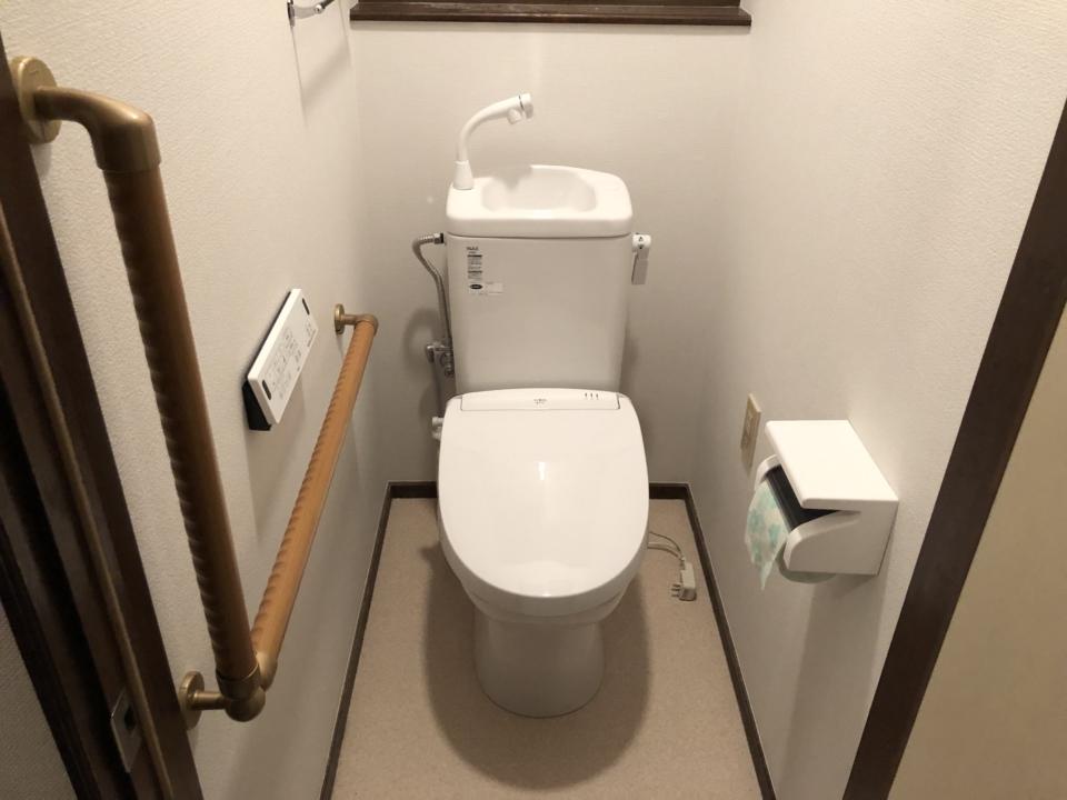 東広島市八本松町監視水洗トイレリフォーム後