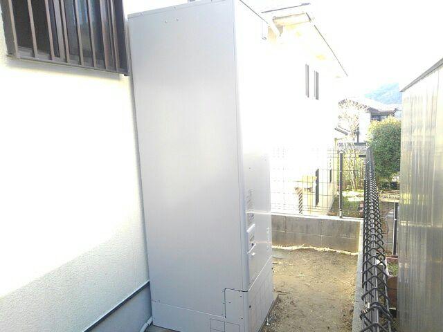 呉市郷原野呂の里 電気温水器交換工事 施工後