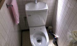 呉市   トイレ水漏れ修理便器交換