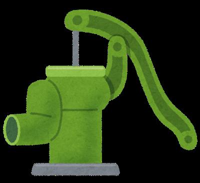 井戸ポンプの種類について | 浅井戸ポンプと深井戸ポンプ