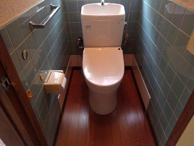 和式トイレから洋式トイレへリフォーム後