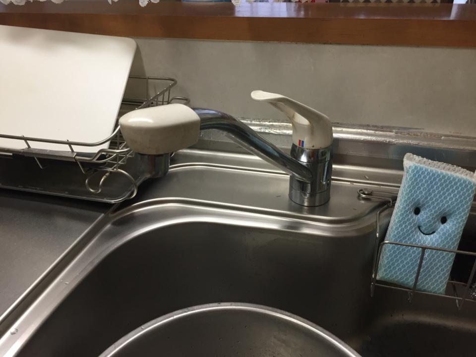 ワンホールデッキ式水栓