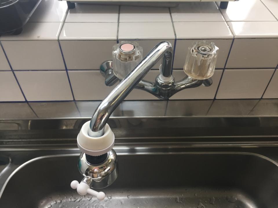 蛇口の修理や交換   台所(キッチン)