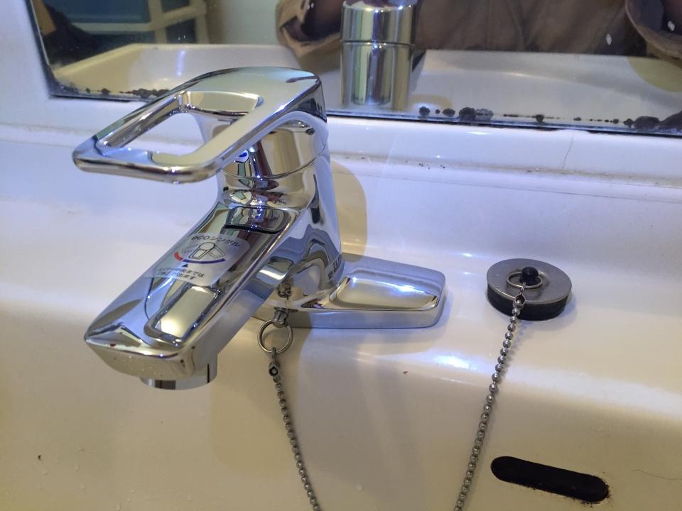 蛇口の修理や交換   洗面(洗面台)