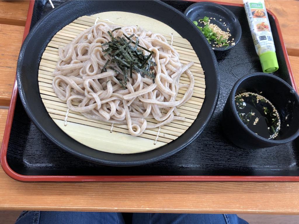 川西 郷の駅のお蕎麦