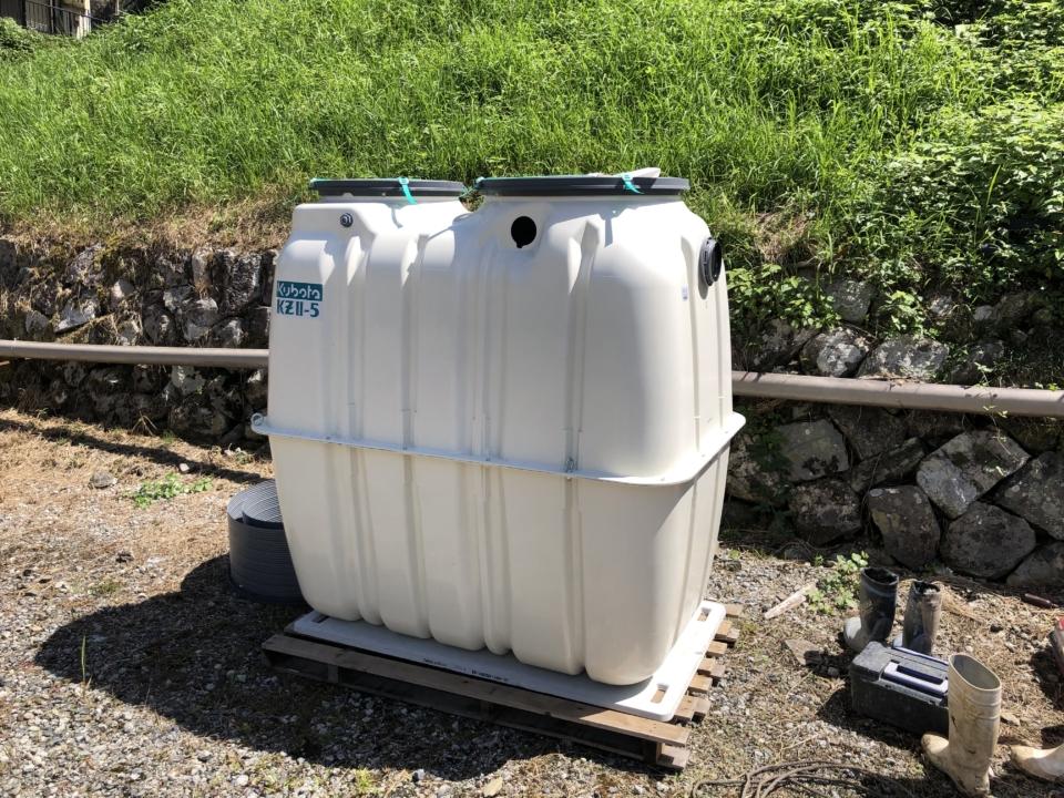 トイレの水洗化について