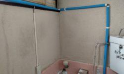 呉市 | 手洗い給水管修理