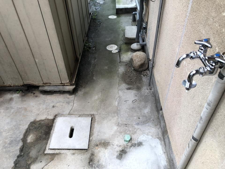 安佐南区排水管工事